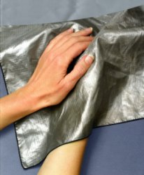 Silver Anti-Microbial Handkerchief Wipe